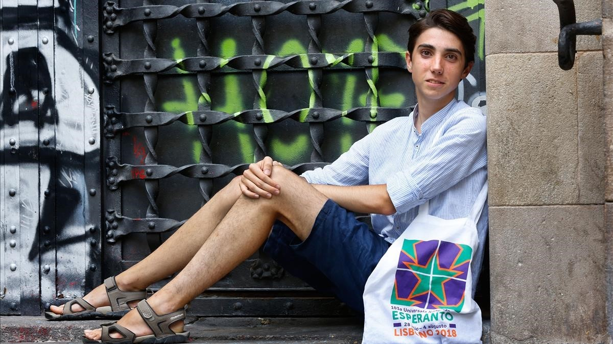 """Jordi Calafí: """"L'esperanto forja una visió sàvia del món"""""""