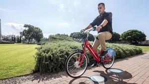Primeras pruebas con la bici del e-Bicibox.