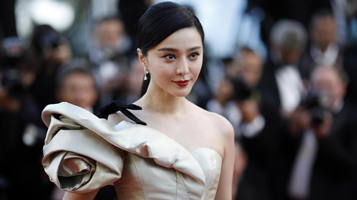 La actriz china mejor pagada, Fan Bingbing, debe más de 130mdd