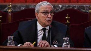 """L'advocat de Forn, sobre Marchena: """"Fa un paper espectacular, exemplar"""""""