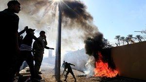 Trump acusa l'Iran de l'assalt de l'Ambaixada dels EUA a Bagdad