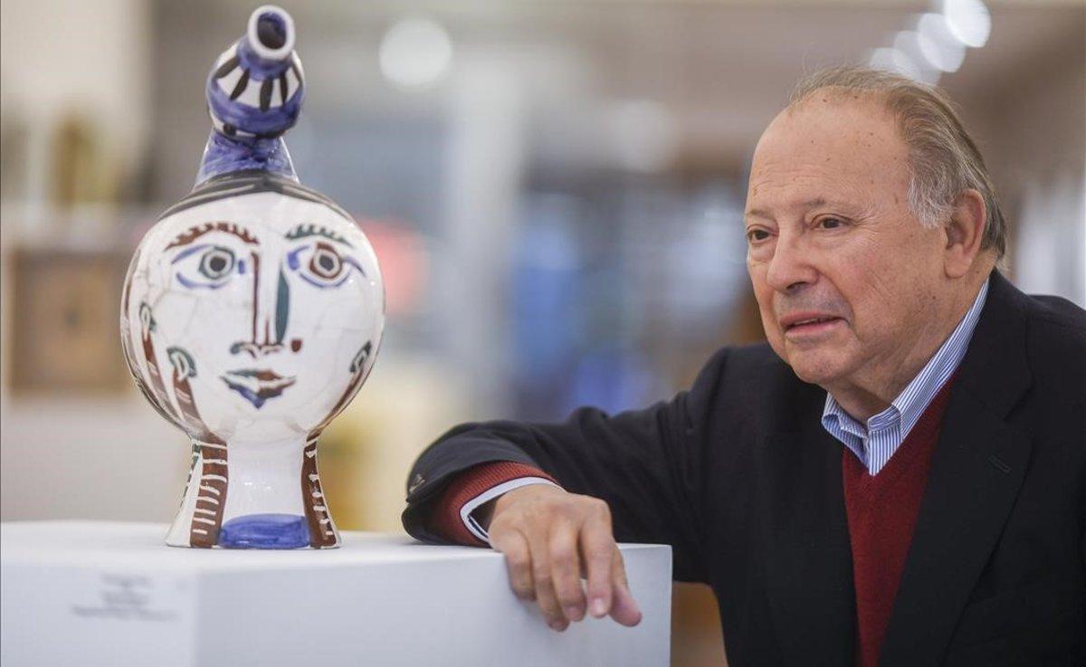 Mor als 80 anys el galerista barceloní Joan Gaspar