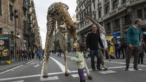 Barcelona estrena 'Obrim Carrers' amb Via Laietana i Gran de Gràcia