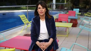 La directora Mabel Lozano, este juevesen Cornellà.