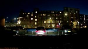 Imagen de uno de los vídeos que captó el sonido de la explosión.