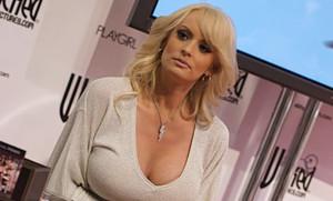 Stormy Daniels, la actriz porno de quien la prensa asegura que tuvo un encuentro sexual con Trump.