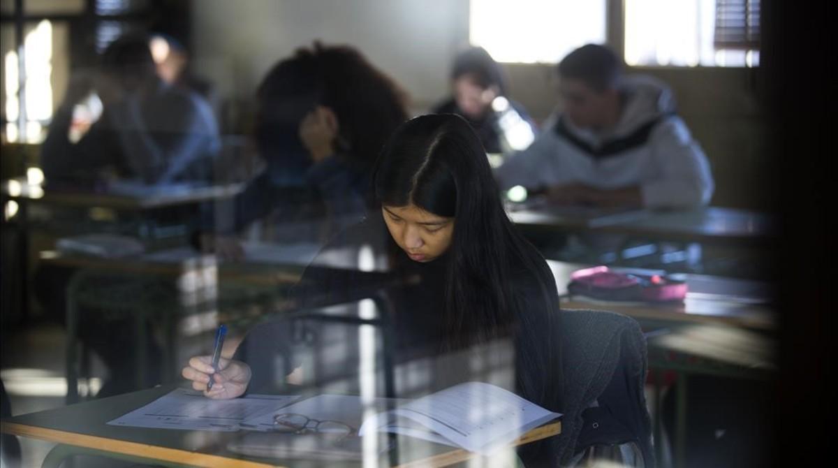 Ensenyament retiene el balance de la prueba de nivel de cuarto de ESO