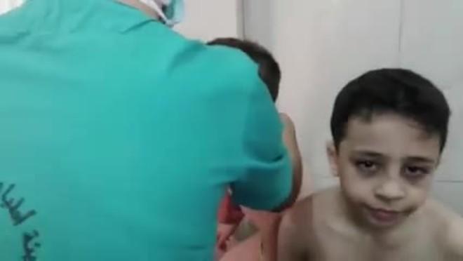 Ataque químico en Alepo