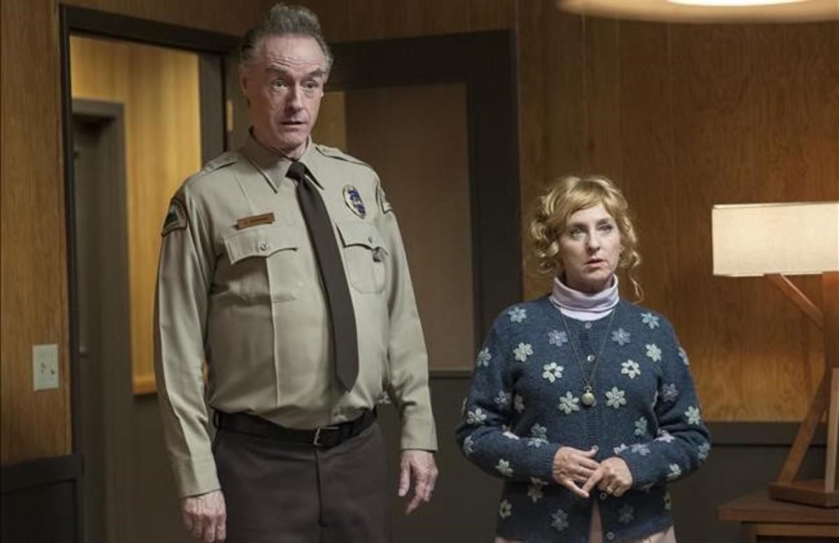 Kimmy Robertson y Harry Goaz, en lo nuevo de 'Twin Peaks'
