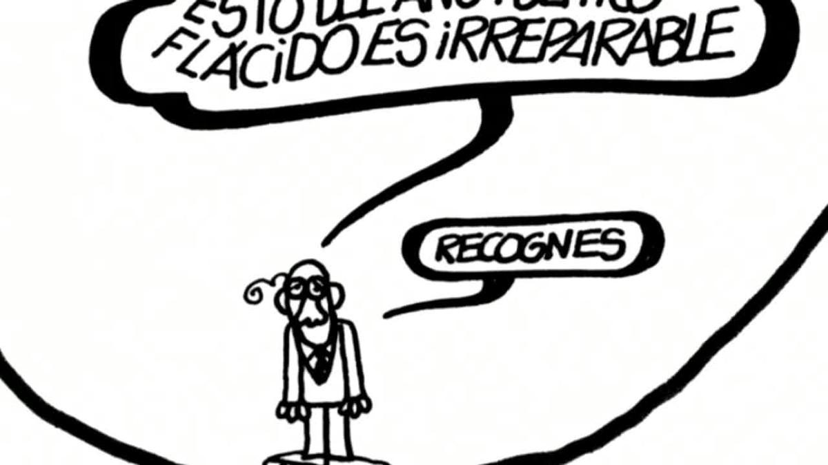 Muere Forges, el dibujante que hizo de la actualidad un chiste serio