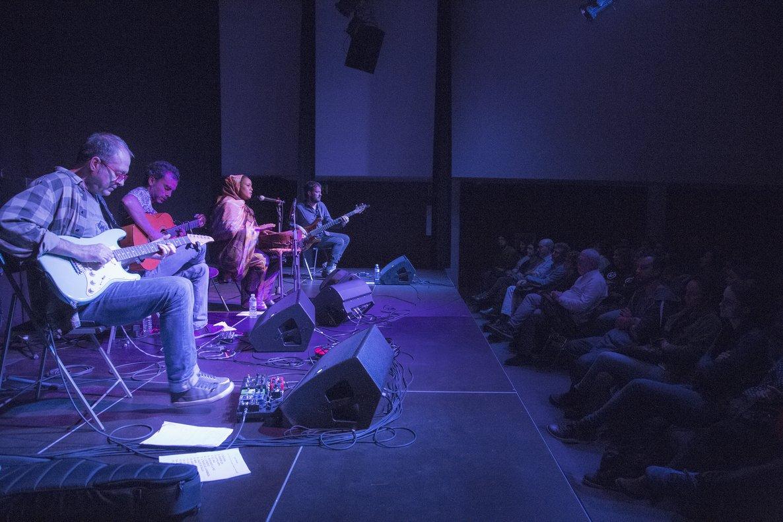 Ambiente de un concierto en el Centre Cultural Albareda.