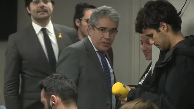 El abogado de Jordi Sànchez, Jordi Turull y Josep Rull, Jordi Pina, ha asegurado hoy que sus clientes irán al Supremo a luchar.