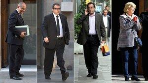 """El juez pide a Anticorrupción que """"amplíe"""" los indicios de blanqueo contra los 'exconsellers' de CDC"""