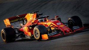 El alemán Sebastian Vettel (Ferrari) ha hecho hoy el mejor tiempo en el Circuit de Catalunya, en el estreno de la F-1.