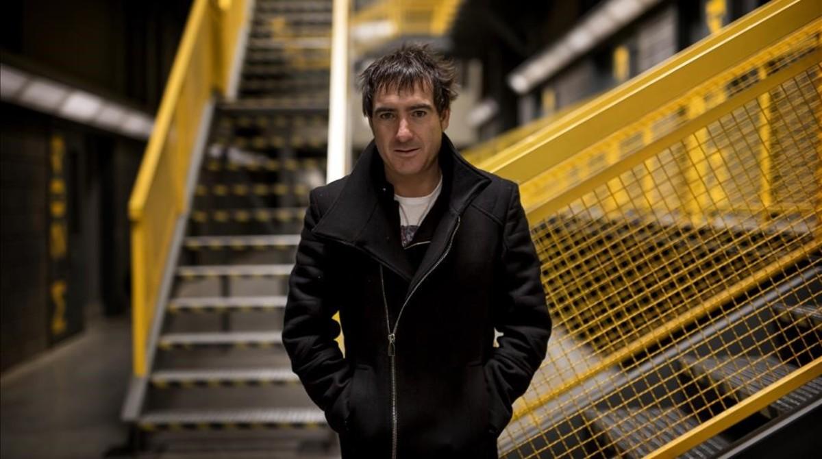 Álex Pina. Guionista y productor ejecutivo de Globomedia. Creador de Vis a vis.