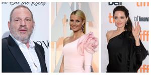 Angelina Jolie y Gwyneth Paltrow se suman a la lista de actrices y directoras que acusan al productor Harvey Weinstein de abusos sexuales.