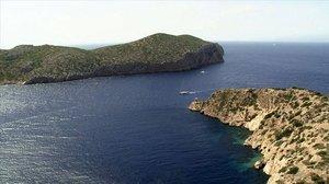 La isla de Cabrera, la más pequeña de las Baleares