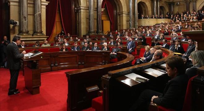 ¿Y dónde están los líderes del Parlament de la investidura del 2012?