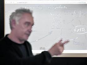 Ferran Adrià, en una de las sesiones divulgativas en el Bullilab de Barcelona.