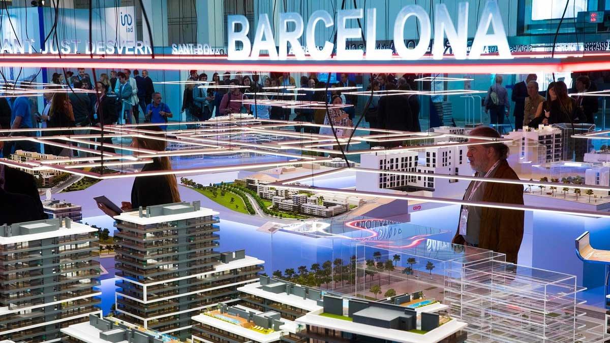 Barcelona Meeting Point, asistentes y exposición en la edición del año anterior.