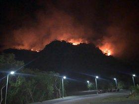 Un incendio forestal en Brasil enen el estado amazónico de Pará.