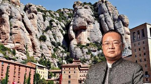 Chen Yansheng, en Montserrat.