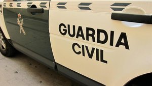 Coche patrulla de la Guardia Civil.