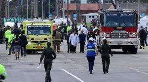 El atentado fue contra la Escuela de Cadetes de la Policía General Francisco de Paula Santander.