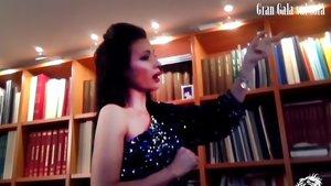 Davinia Rodríguez, en la gala 'online' del Festival Donizetti
