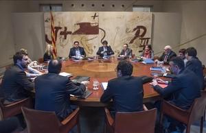 """Tensió al Govern: """"Nosaltres ja vam sacrificar Mas"""""""