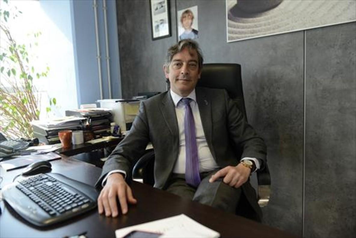 Carlos Buesa, uno de los fundadores de Oryzon.