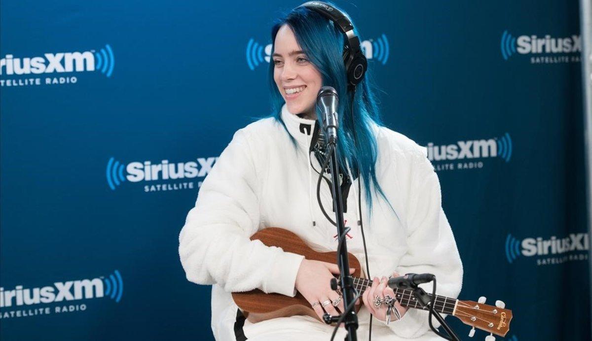 Billie Eilish, en una actuación en Nueva York, en noviembre pasado.