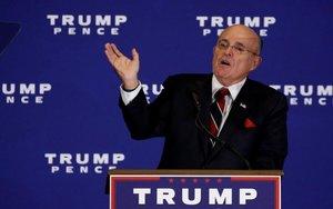 Rudy Giuliani, el abogado personal de Donald Trump.