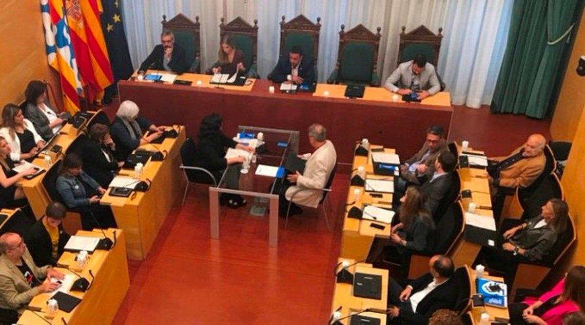 Sesión extraordinaria y urgente del Pleno celebrado este lunes 21 de octubre.