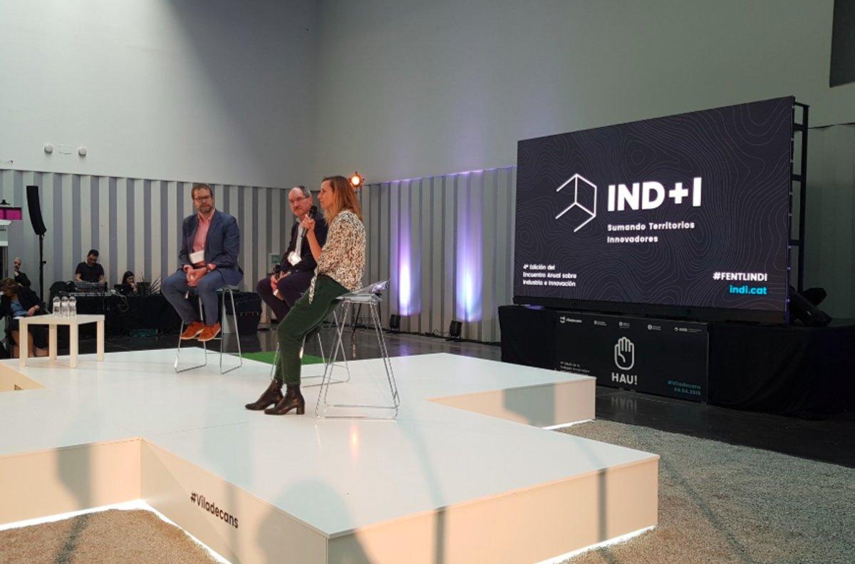 El 4º encuentro sobre industria e innovación 'IND+I', celebrado este jueves en Viladecans
