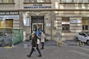 Escuela de la Immaculada Concepció, en Barcelona.