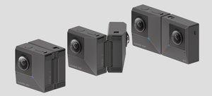La nueva cámara plegable modelo Evo de Insta360.