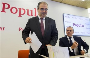 El expresidente del Banco Popular, Angel Ron.