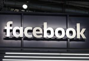 La red social Facebook .