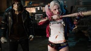 Margot Robbie, en un fotograma de 'Escuadrón suicida'.