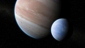 Detectada la que podria ser la primera lluna fora del sistema solar