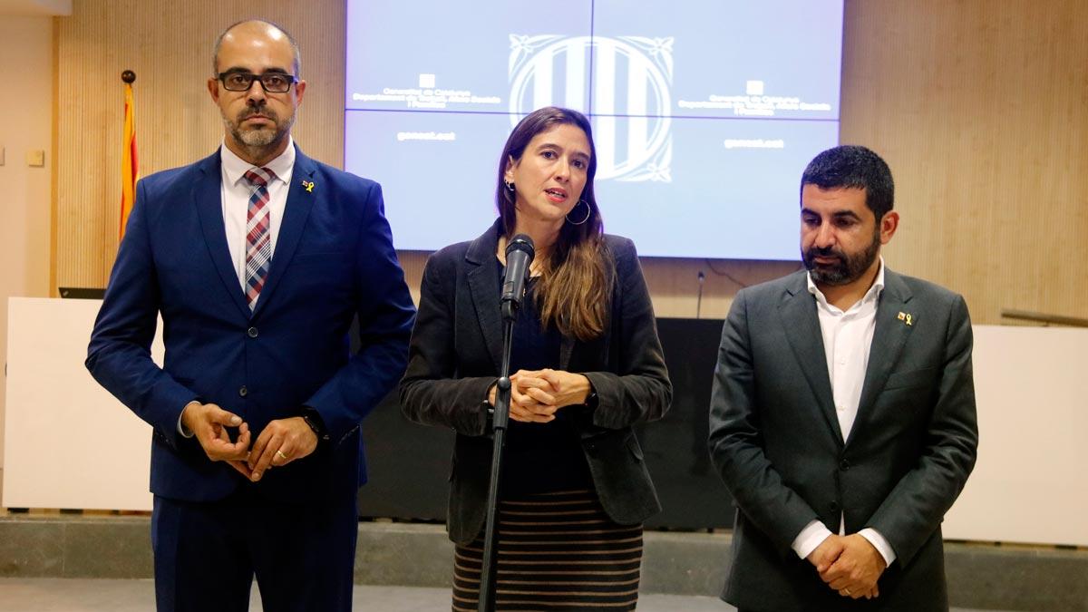 La Generalitat y el Ayuntamiento de Santa Coloma de Gramenet trabajarán juntos para atender a los jóvenes más vulnerables. En el vídeo, declaraciones del conseller de Treball, Afers Socials i Famílies, Chakir El Homrani, y la alcaldesa de Santa Coloma, Núria Parlon.