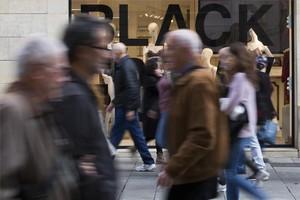 El comerç confia en el Black Friday com a punt d'inflexió