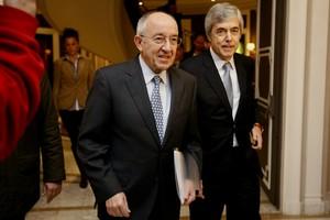 El Gobernador del Banco de España, Miguel Angel Fernandez Ordoñez.