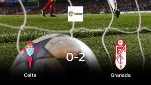 El Granada se lleva el triunfo después de ganar 0-2 al Celta