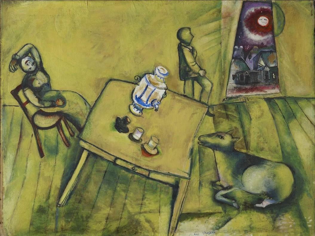 La habitación amarilla (1911).