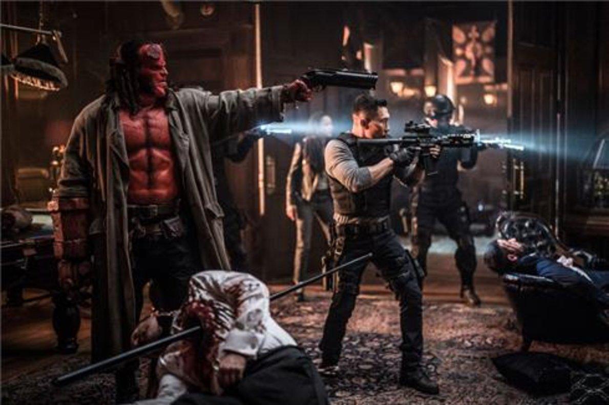 El 'reboot'. David Harbour, el nuevo Hellboy de Neil Marshall.