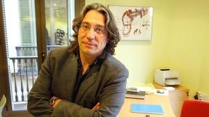 Xavier Marcé, nuevo asesor culturaldel teniente de alcalde socialista Jaume Collboni.