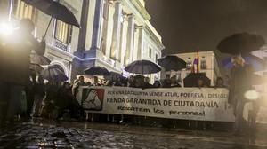 El Parlament aprova per unanimitat la Renda Garantida de Ciutadania
