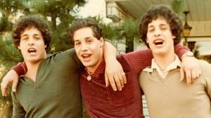 Imagen de los trillizos, en los años 80